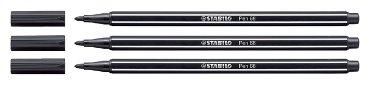 Viltstift STABILO Pen 68/46 zwart