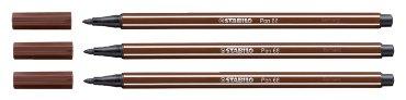 Viltstift STABILO Pen 68/45 bruin