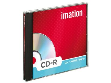 Imation cd recordable CD-R in jewelcase