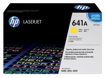 HP laser cartridge C9722A geel voor o.a. laserjet 4600-serie