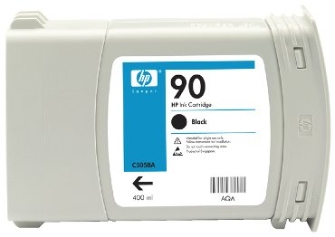 Inkcartridge HP C5058A 90 zwart