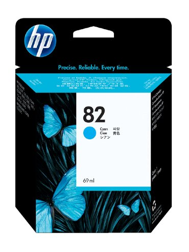 Inkcartridge HP C4911A 82 blauw