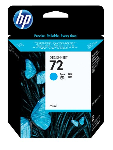 Inkcartridge HP C9398A 72 blauw