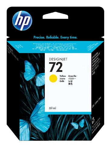 Inkcartridge HP C9400A 72 geel