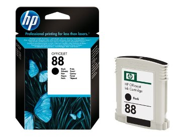 Inkcartridge HP C9385AE 88 zwart
