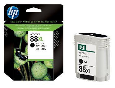 Inktcartridge HP C9396AE 88XL zwart HC
