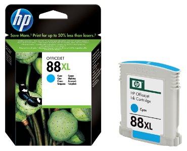 Inktcartridge HP C9391AE 88XL blauw HC
