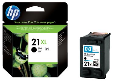 HP inkject cartridge no. 21 XL zwart - high capacity