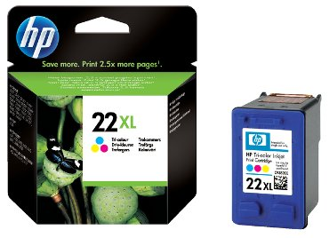Inktcartridge HP C9352CE 22XL kleur HC