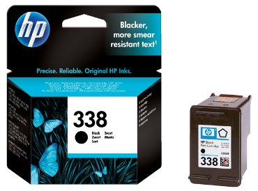 HP inkjet cartridge no. 338 zwart - 11 ml.
