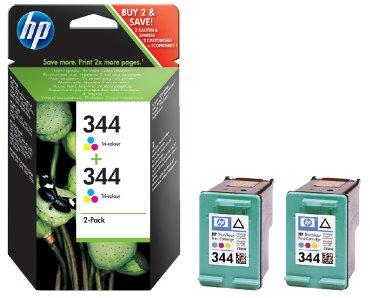Inkcartridge HP C9505EE 344 kleur 2x