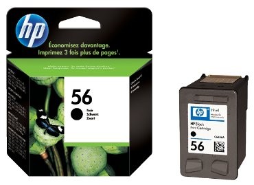HP inkjet cartridge no. 56 zwart - 19 ml.