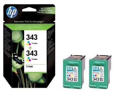 Inktcartridge HP CB332EE 343 kleur 2x