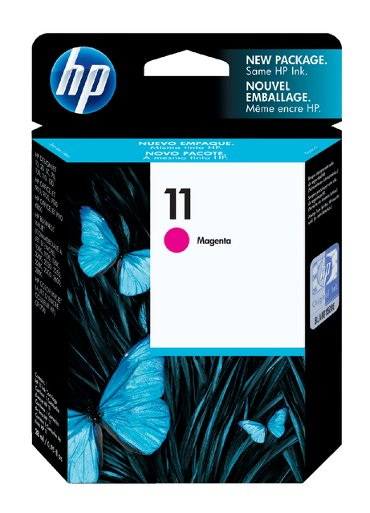 Inktcartridge HP C4837AE 11 rood