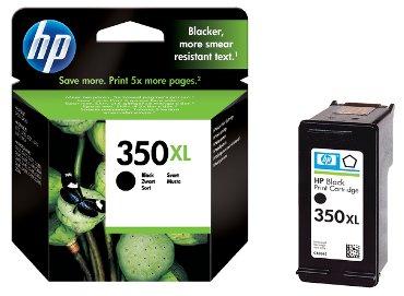 Inktcartridge HP CB336EE 350XL zwart HC