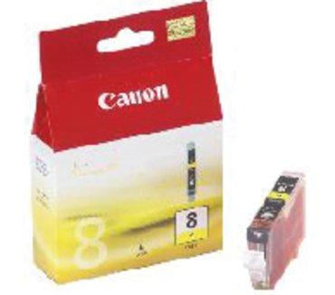 Canon inkjet cartridge cli-8y geel