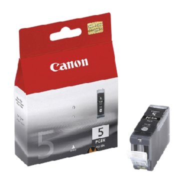 Canon inkjet cartridge pgi-5bk zwart - 26 ml.