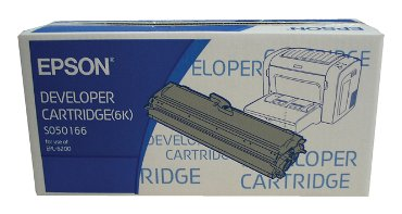 Tonercartridge Epson So50166 zwart