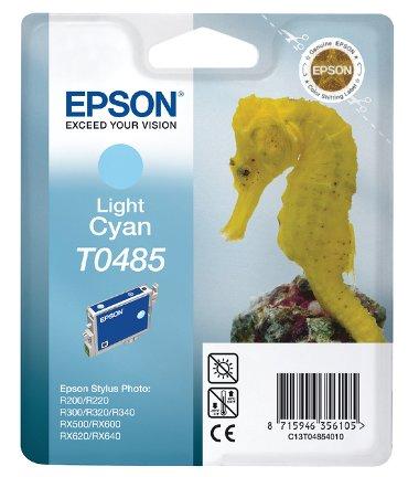 Inktcartridge Epson T0485 lichtblauw