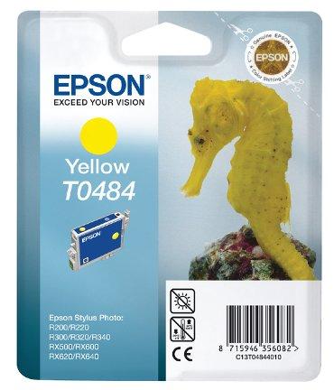 Inkcartridge Epson T0484 geel