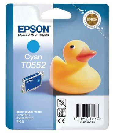 Inktcartridge Epson T0552 blauw