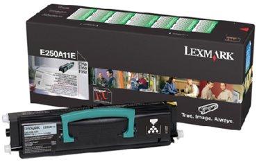 Tonercartridge Lexmark E250A11E prebate zwart