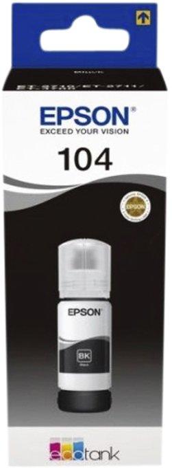 Navulinkt Epson 104 T00P140 zwart