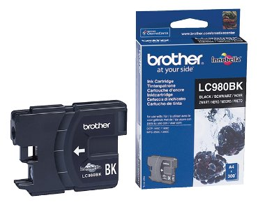 Inkcartridge Brother LC-980BK zwart