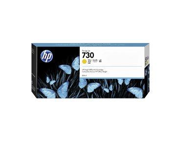 Inktcartridge P2V70A 730 300ml geel