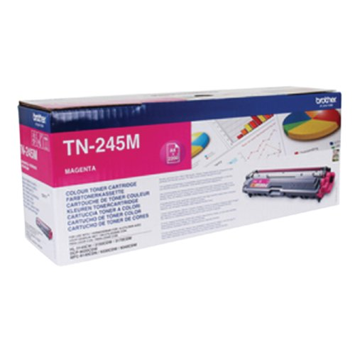 Tonercartridge brother tn-245m rood