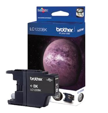 Inkcartridge Brother LC-1220BK zwart