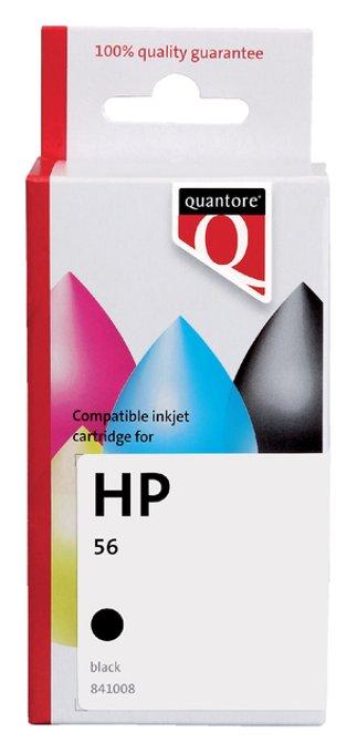 Inkcartridge Quantore HP C6656D 56 zwart