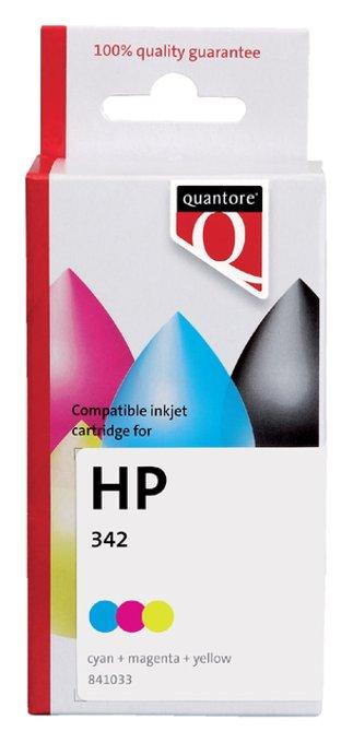Inktcartridge Quantore HP C9361EE 342 kleur