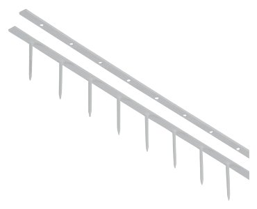 Surebindstrip GBC 25mm 10-pins wit