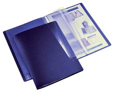 Showmap HF2 flexibel A4 20-tassen donkerblauw
