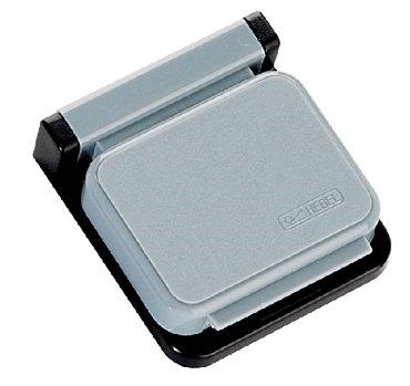 Klemboy MAUL magnetisch zelfklevend grijs