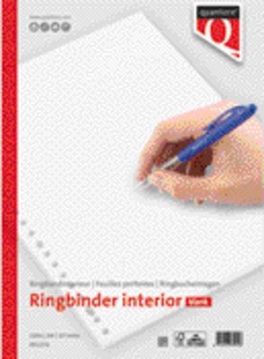 Interieur Quantore A4 23-gaats blanco 100vel