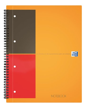 Spiraalblok Oxford International Notebook A5 gelinierd