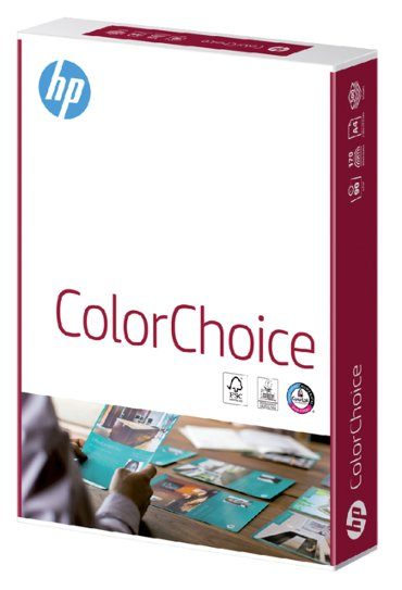 Kleurenlaserpapier HP Color Choice A4 100gr wit 500vel