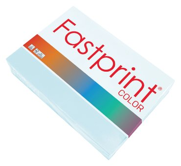 Fastprint color papier, formaat a4, 80 grams, lichtblauw (500 vel)