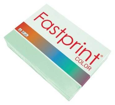 Fastprint color papier, formaat a4, 80 grams, appelgroen (500 vel)