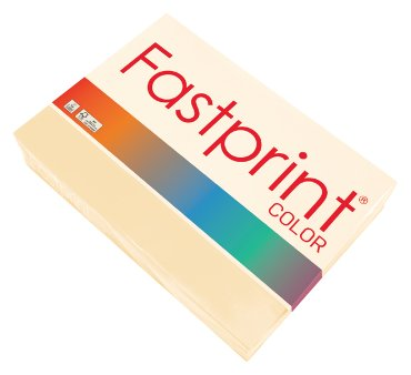 Fastprint color papier, formaat a4, 80 grams, crème (500 vel)