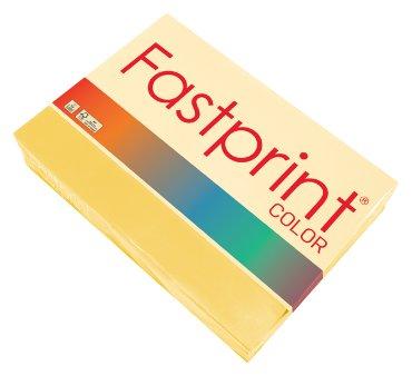 Kopieerpapier Fastprint A4 80gr diepgeel 500vel
