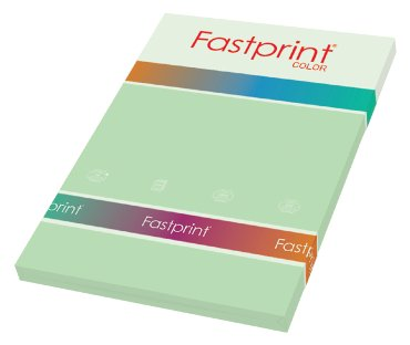 Fastprint color papier, formaat a4, 80 grams, appelgroen (100 vel)