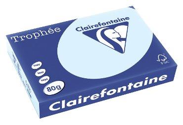 Kopieerpapier Trophee A4 80gr azuurblauw 500vel