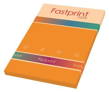 Kopieerpapier Fastprint A4 120gr oranje 100vel