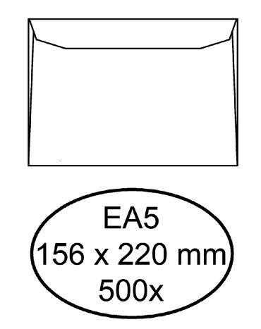 Envelop Hermes bank EA5 156x220mm gegomd wit
