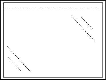 Paklijstenvelop CleverPack zelfklevend blanco 165x112 100st