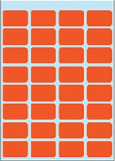 Etiket Herma 3642 12x19mm rood 160stuks