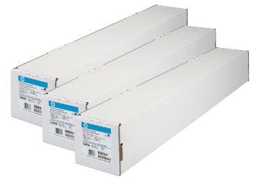 Inkjetpapier HP C6035A 610mmx45,7m 90gr helder wit